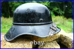 Original WW2 German Luftschutz'Gladiator' helmet