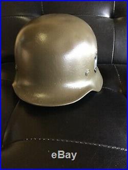 Original WW2 German M35 Helmet