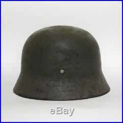 Original WW2 German M35 helmet ET68
