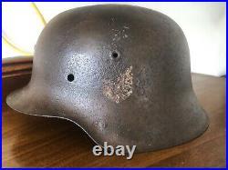 Original WW2 German M42 Helmet Shell Size 66