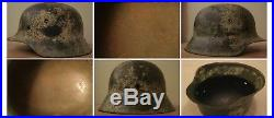 Original WW2 German M42 Helmet WWII