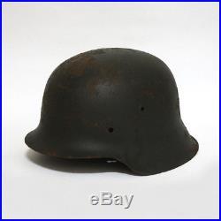 Original WW2 German helmet M42 Stahlhelm Large size
