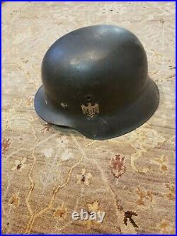 Original WW2 German helmet M42 with original liner and decal