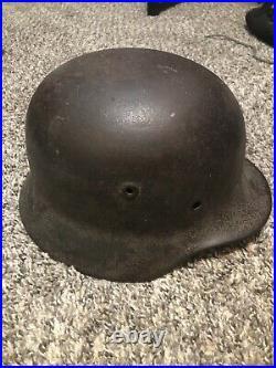 Original WW2 german M40 helmet shell