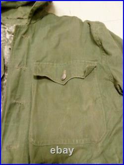 Original WW2 parka ELITE allemand M43 fur german jacket anorak hood helmet XX