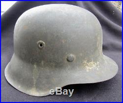 Original WWII German Combat Helmet M42. Estate Fresh