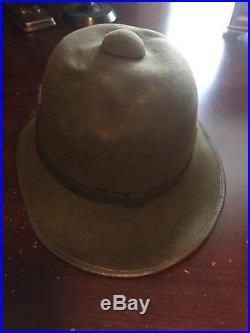 Original WWII German DAK AFRIKA KORPS Tropical PITH HELMET