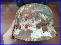 Original WWII German Helmet Eastern front