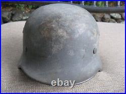 Original WWII German M40 Combat Helmet