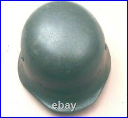 Original WWII Hungarian M38 Steel Helmet (German M35 Copy)- Size 56cm