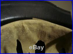 Original Ww2 German Helmet With Liner & Chinstrap Rl2 39/25 Wwii