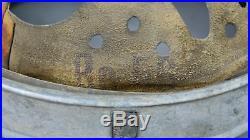 Original Ww2 German Helmet Zinc Liner, Size 64/56