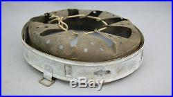 Original Ww2 German Helmet Zinc Liner, Size 68/61