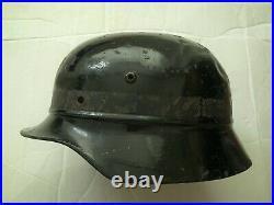 Original Ww2 German M35 Helmet Wwii'q64