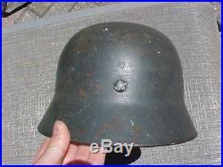Original Wwii German M-35 Helmet Spanish CIVIL War