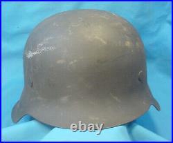 Original Wwii German M42 Combat Helmet