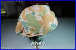 Post WW2 East German NVA DDR GDR Army M56 Helmet WW2 Style Liner & Camo Cover