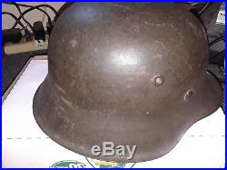 Preownd Ww2 German Helmets. With Liner. Vguc
