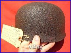 RARE WW2 German Fallschirmjager PARATROOPER Helmet Dug RELIC