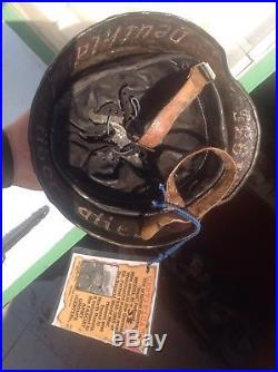 Rare Beautiful German WW2 Helmet M-35 with Certificate of Originality