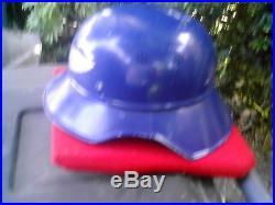 Rare & Original Ww II German Helmet. Look