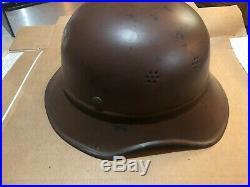 Rare Ww2 German Gladiator Sa Helmet