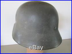 Rare casque allemand ww2 de la HJ german helmet stalhelm