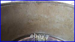 Rare, old WWII 1938 German Luftschutz Gladiator helmet used in Bulgaria, 3pcs, r