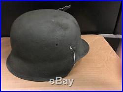 Rebuilt German WW2 M42 Helmet