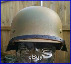 Refurbished WWII German M40 Helmet Size 64