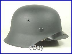Restored Original German WW2 Helmet Luftwaffe M42