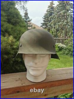 Restored Ww2 german M42 Helmet