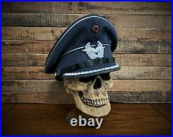 Skull Helmet Display Stand U. S. German Wwii Vietnam Usmc Hat