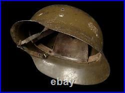 Spanish German Style Military Combat Helmet with Liner WW2