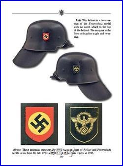 The Helmet Decals of the Third Reich Ken Niewiarowicz WW2 German Decal Book WWII