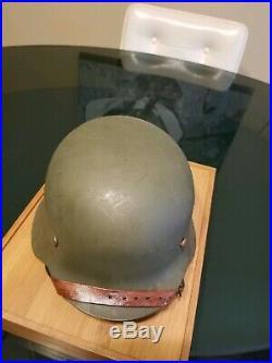 VINTAGE WW2 GERMAN Helmet M42 ET64 Eisenhuttenwerke, Thale With Liner