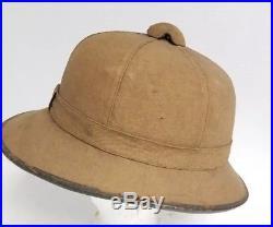 3b0a0b6315681 Vintage   Antique World War I   WW II German Africa Corp. Pith Helmet