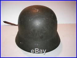 Vintage Original Untouched german helmet aluminum liner WW2 army SEE PIC