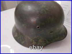 WW II German Luftwaffe Camouflage Helmet