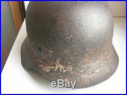 WW II German relic original helmet winter M 42