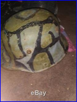 WW1 German WW2 Rare shell helmet