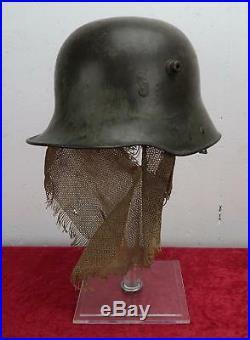 WW1 German sniper camo combat helmet trench uniform WWII US