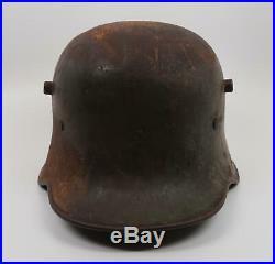 WW1 German steel uniform helmet WW2 US Austrian Army Veteran combat war souvenir
