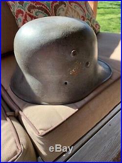 WW1-WW2 German Transitional M17 Helmet