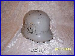 WW1 WWI Pre WWII German Helmet Shell M-1916 M16 M17 Trench Helmet BF64