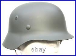 WW2 GERMAN ARMY STEEL HELMET M35 REPRODUCTION 57/58cm
