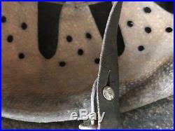 WW2 GERMAN HELMET. M42. COMBAT MEDICS. COMPLETE WithLINER&CHIN STRAP. SZ 64/57. ORIG