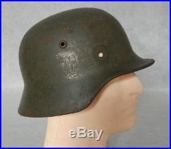 WW2 GERMAN M35 HELMET with HISTORY