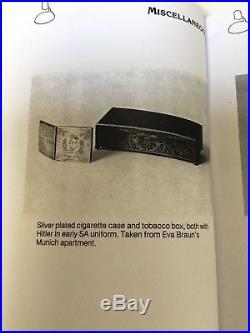 WW2 German Adolf Hitler Patriotic Box Obersalzberg Berghof Eva Braun Helmet