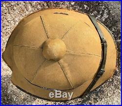 WW2 German Afrika Korps Pith Helmet EARLY WWII